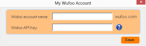 Connect to your Wufoo account